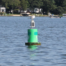 Buoy on White Lake